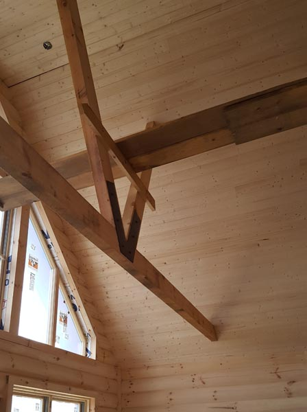 Cabin Vaulted Ceiling